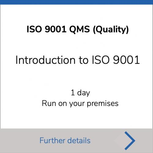 Introduction to ISO 9001